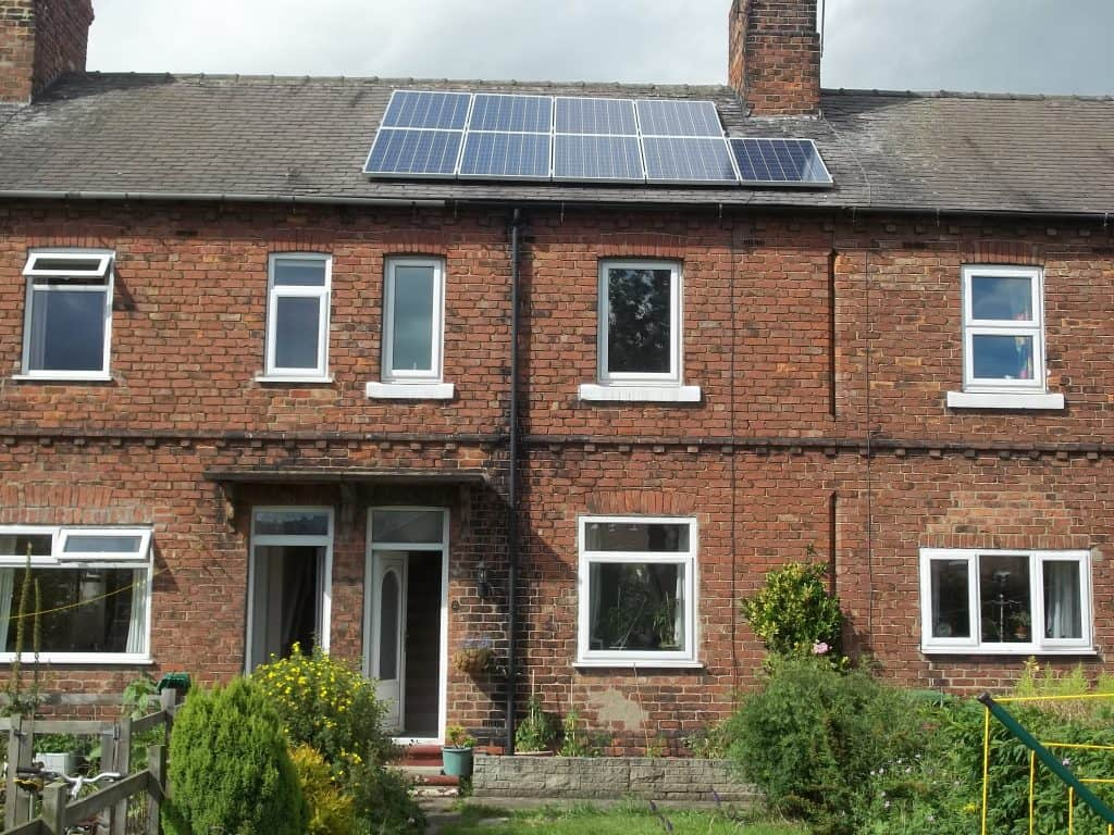 Solar Panel Location - Northallerton
