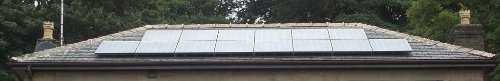 14 Solar PV Panels