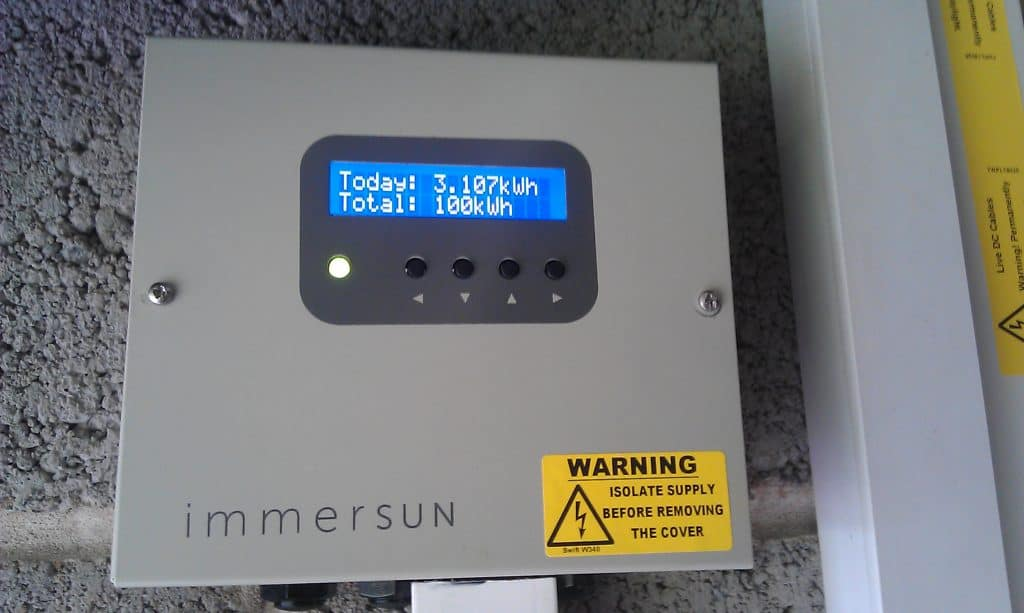 Immersun Solar Water Heater Leeds