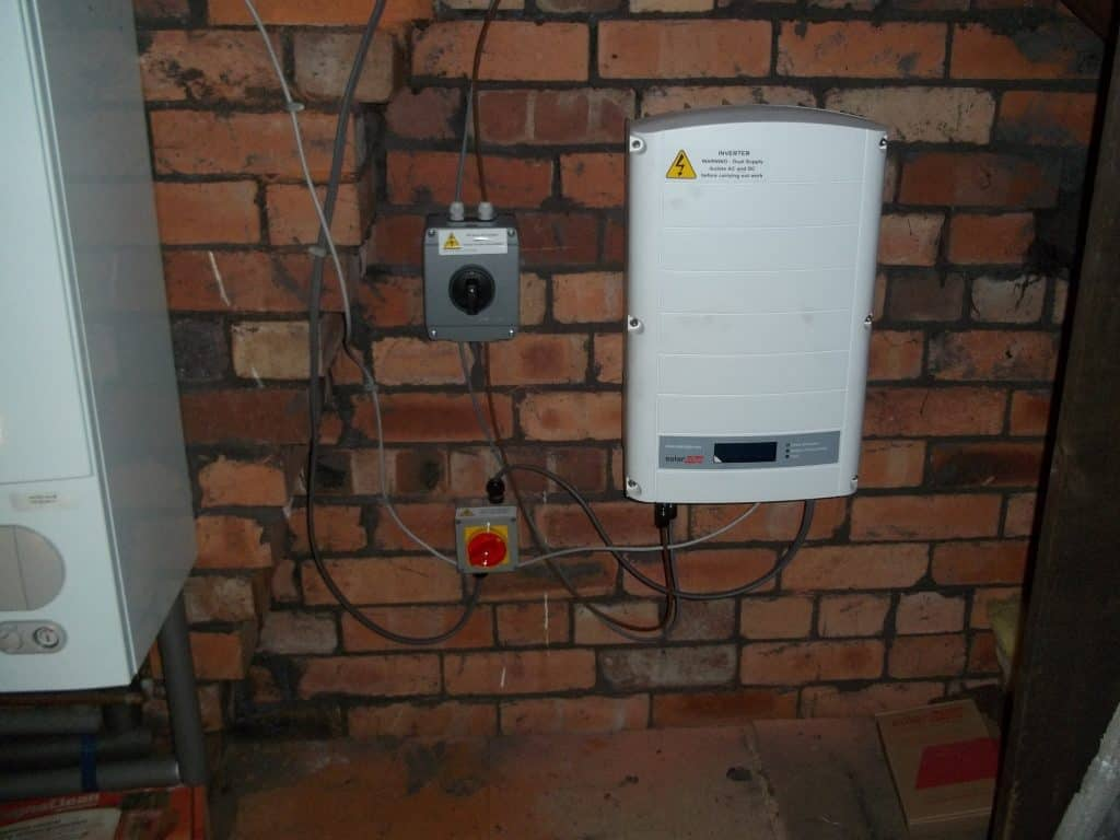 Solar Edge Inverter Horbury