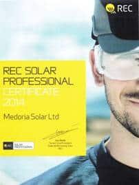 REC Solar Professional Certificate