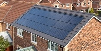 Solar Panels on house in Rothwell